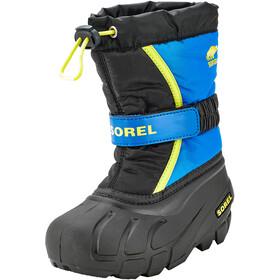 Sorel Flurry Boots Kids black/super blue